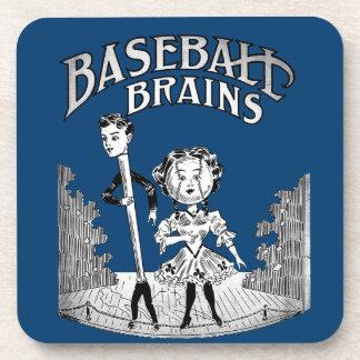 Porta-copo Design do basebol do vintage