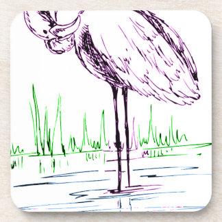 Porta-copo flamingo #16