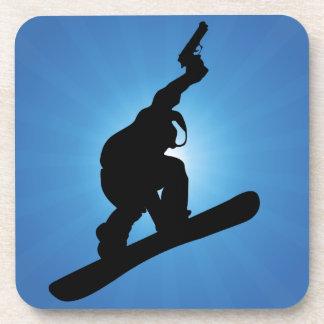 Porta-copo Fora da lei do Snowboard