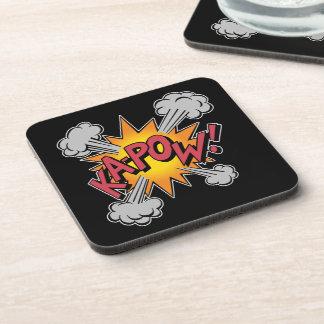 Porta-copo KA-POW! Gráfico da banda desenhada