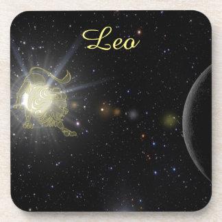 Porta-copo Leo brilhante