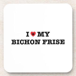 Porta-copo Mim coração meu Bichon Frise