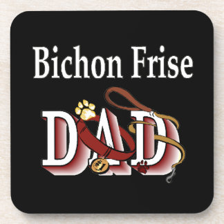 Porta-copo Pai de Bichon Frise