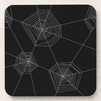 Porta-copo Portas copos pretas das Web de aranha