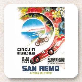 Porta-copo Poster 1947 grande da raça de San Remo Prix