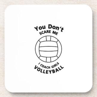 Porta-copo Presente engraçado do treinador do voleibol você
