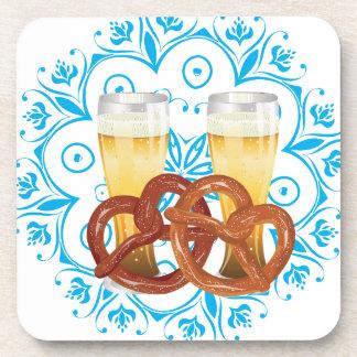 Porta-copo Pretzel dos desenhos animados com cerveja 2
