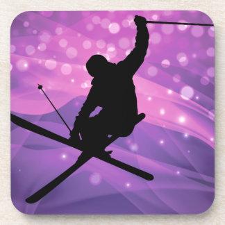 Porta-copo Salto de esqui