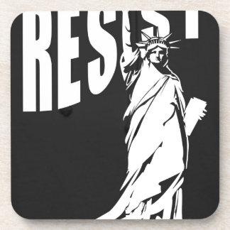 Porta-copo senhora-liberdade-resista