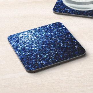 Porta-copo Sparkles azuis escuro bonitos do brilho