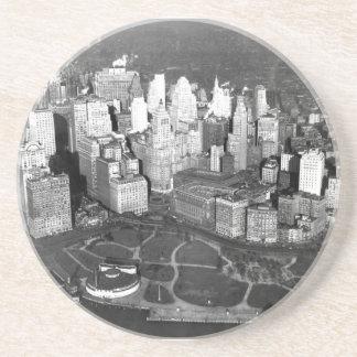 Porta copos 1900 da antena de New York