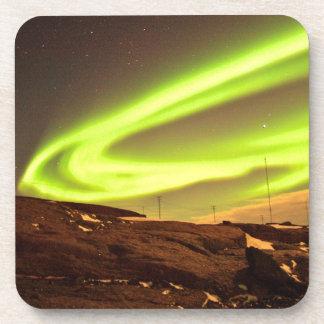 Porta-copos A Aurora ilumina o cenário bonito da natureza
