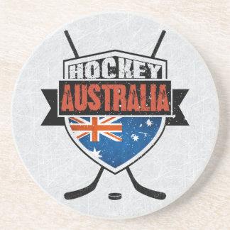 Porta copos australiana do logotipo da bandeira do