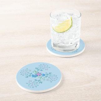 Porta-copos Azul da borboleta