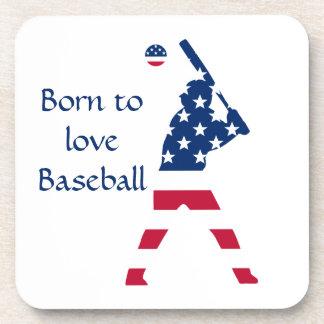 Porta-copos Bandeira do americano do basebol de América