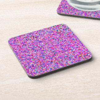 Porta-copos Brilho moderno #2 do grão do mosaico multicolorido