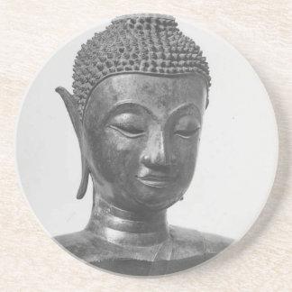 Porta-copos Cabeça de Buddha - século XV - Tailândia