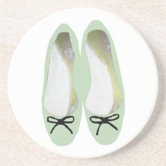 Porta-copos Calçados verdes