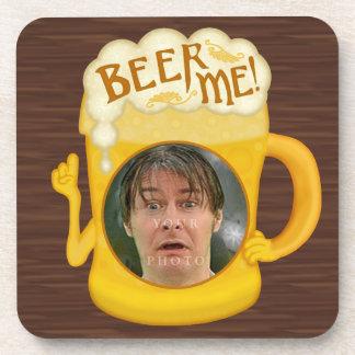 Porta-copos Cerveja engraçada mim foto personalizada | do