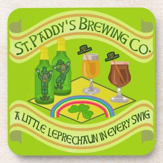 Porta-copos Cervejaria engraçada do Leprechaun do dia de