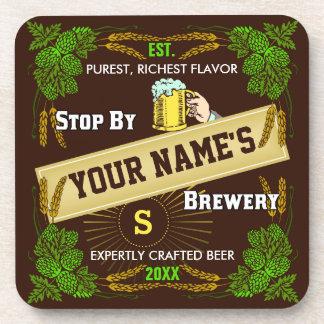Porta-copos Cervejaria personalizada: Cerveja da cevada dos