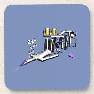 Porta-copos Coasters Golpes de bar man birthday
