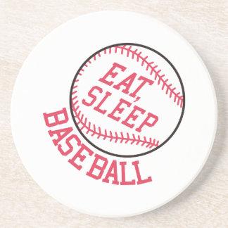 Porta-copos Coma, durma, basebol