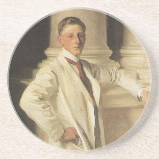 Porta-copos Conde de Dalhousie por Sargent, arte do retrato do