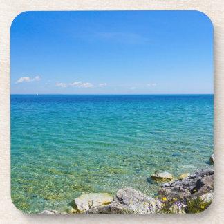Porta-copos Cores bonitas do Lago Huron