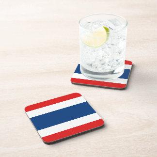 Porta copos da bandeira de Tailândia