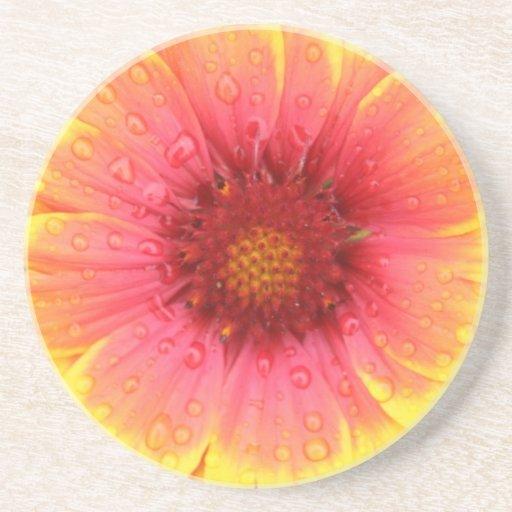 Porta copos da flor