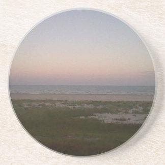 Porta copos da praia de Sunsetting