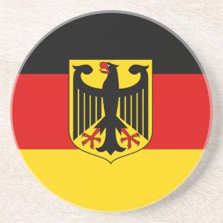 Porta-copos De Arenito Bandeira alemão