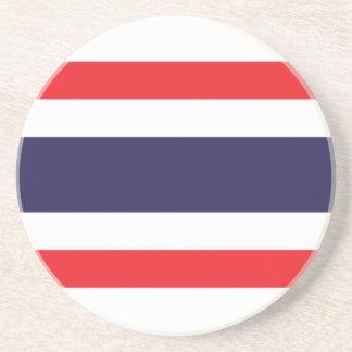 Porta-copos De Arenito Bandeira de Tailândia