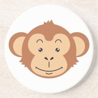 Porta-copos De Arenito Cara do macaco