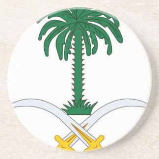 Porta-copos De Arenito Coat_of_arms_of_Saudi_Arabia