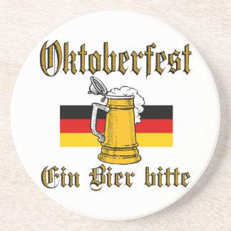 Porta-copos De Arenito Engrenagem de Oktoberfest