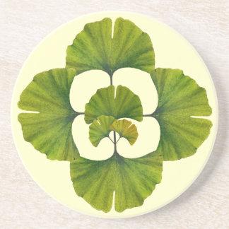 Porta-copos De Arenito Grande arte da nogueira-do-Japão para seus artes &