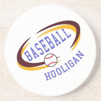 Porta-copos De Arenito Hooligan do basebol