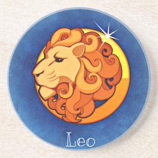 Porta-copos De Arenito Leo, leone