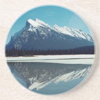 Porta-copos De Arenito Montanha de Rundle, Banff