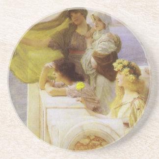 Porta-copos De Arenito No berço do Afrodite pelo senhor Lawrence Alma