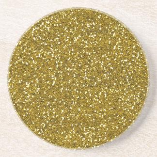 Porta-copos De Arenito Ouro à moda do brilho