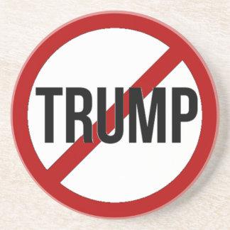 Porta-copos De Arenito Pare o Anti-Trunfo de Donald Trump