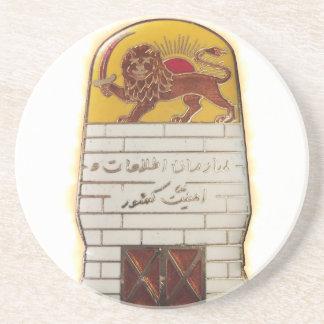 Porta-copos De Arenito Polícia secreta persa SAVAK