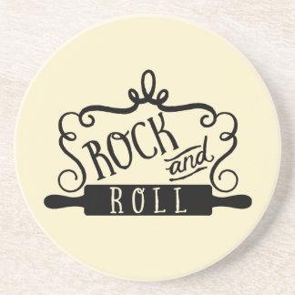 Porta-copos De Arenito Rock and roll