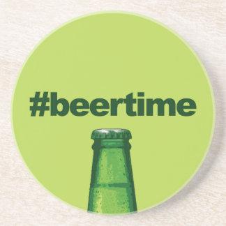 Porta-copos De Arenito Tempo da cerveja