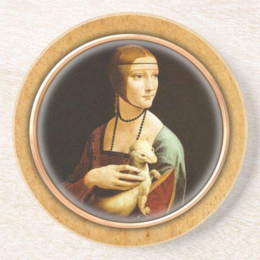 Porta copos de Cecilia Gallerani de Leonardo da Vi