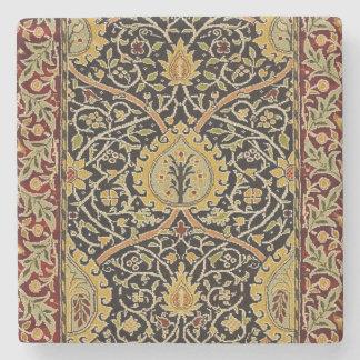 Porta Copos De Pedra Design do impressão da arte do tapete persa de