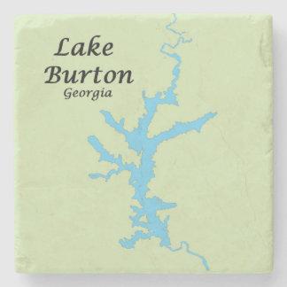 Porta Copos De Pedra Lago Burton, esboço, Geórgia, portas copos de